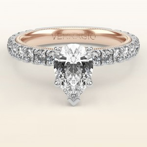 Verragio Tradition TR210PS4-2WR 14 Karat Diamond Engagement Ring