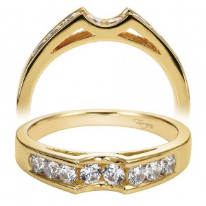Taryn 14 Karat Straight Wedding Band TW2352Y44JJ