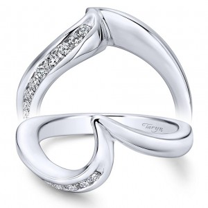 Curved Taryn Collection Ladies Wedding Rings Bands Tq Diamonds