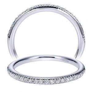 Taryn 14 Karat White Gold Matching Straight Wedding Band TW5346W44JJ