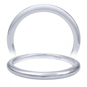Taryn 14 Karat White Gold Straight Wedding Band TW10095W4JJJ