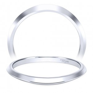 Taryn 14 Karat White Gold Straight Wedding Band TW11832R3W4JJJ
