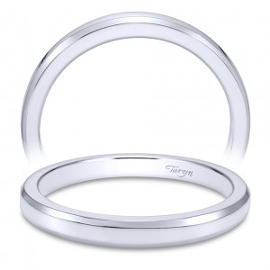 Taryn 14 Karat White Gold Straight Wedding Band TW6576W4JJJ