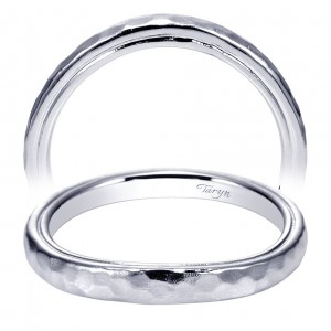Taryn 14 Karat White Gold Straight Wedding Band TW9092W4JJJ