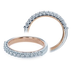 Verragio Classic-901W-TT Platinum Diamond Wedding Ring / Band