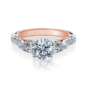 Verragio Couture-0470PS-2WR Platinum Engagement Ring