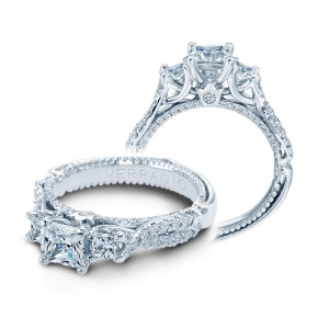 Verragio Couture-0475P Platinum Engagement Ring