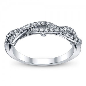 Verragio Insignia-7050W 14 Karat Wedding Ring / Band