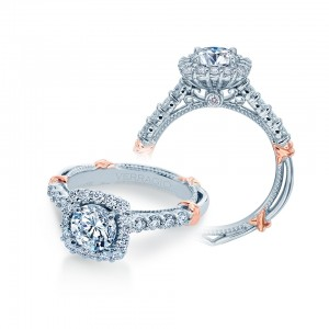 Verragio Parisian-150CU Platinum Engagement Ring