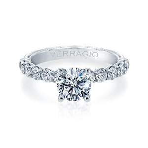 Verragio Renaissance-950R27 14 Karat Diamond Engagement Ring