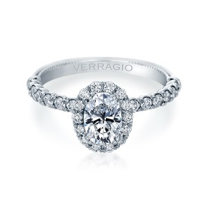 Verragio Renaissance-954OV18 14 Karat Diamond Engagement Ring