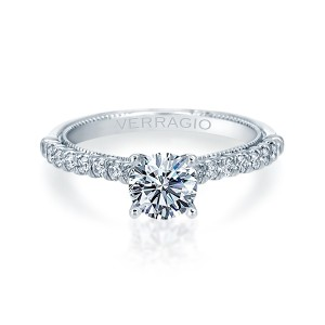 Verragio Renaissance-955R17 14 Karat Diamond Engagement Ring