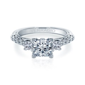 Verragio Renaissance-956P22 14 Karat Diamond Engagement Ring
