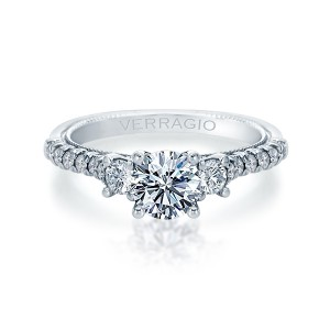 Verragio Renaissance-956R15 14 Karat Diamond Engagement Ring