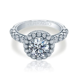 Verragio Renaissance-957R25 14 Karat Diamond Engagement Ring