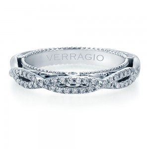 Verragio Venetian-5013W Platinum Wedding Ring / Band