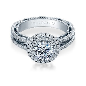 Verragio Venetian-5049R Platinum Engagement Ring