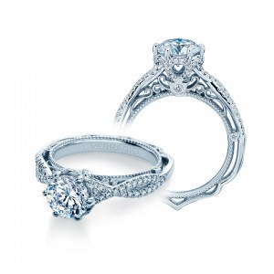 Verragio Venetian-5078 Platinum Engagement Ring