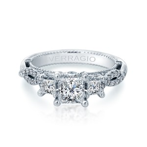 Verragio Venetian-5079P Platinum Engagement Ring