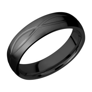 Lashbrook Z6DINF Zirconium Wedding Ring or Band