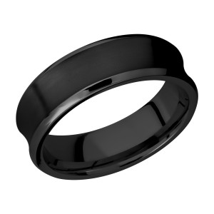 Lashbrook Z7CB Zirconium Wedding Ring or Band