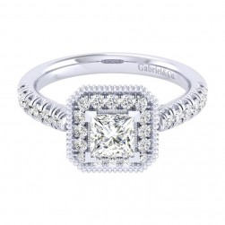 Gabriel 14 Karat Perfect Match Engagement Ring ER039B3ALW44JJ