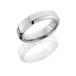 Lashbrook 14KW6HB POLISH Precious Metal Wedding Ring or Band