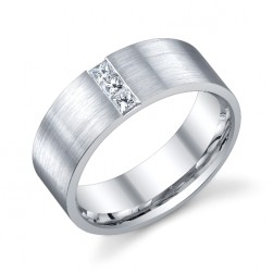 243549 Christian Bauer Platinum Diamond  Wedding Ring / Band