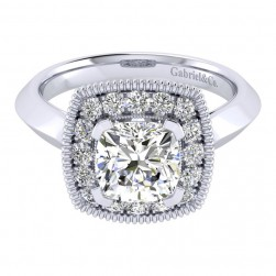 Gabriel 14 Karat Perfect Match Engagement Ring ER001C8AKW44JJ