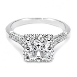 Tacori 18 Karat Solitaire Engagement Ring 2502PRP5