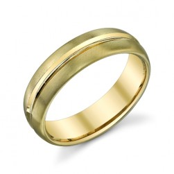 272889 Christian Bauer 14 Karat Yellow Wedding Ring / Band