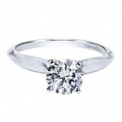 Gabriel 14 Karat Contemporary Engagement Ring ER11831R3W4JJJ