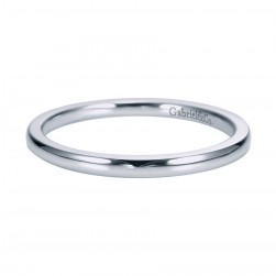 Gabriel Platinum Contemporary Wedding Band WB7944PTJJJ