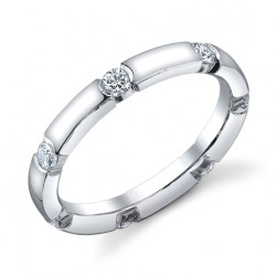 244633 Christian Bauer 18 Karat Diamond  Wedding Ring / Band