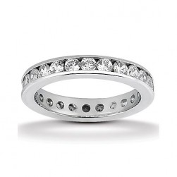 Eternity Diamond Band 14 Karat Taryn Collection TQD 6-2-124