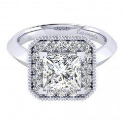 Gabriel 14 Karat Perfect Match Engagement Ring ER001C8ALW44JJ
