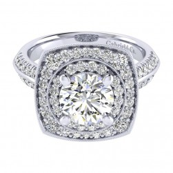 Gabriel 14 Karat Perfect Match Engagement Ring ER002C8AFW44JJ