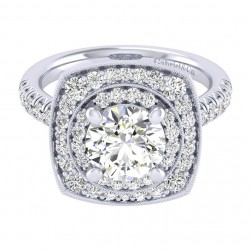 Gabriel 14 Karat Perfect Match Engagement Ring ER039C8AFW44JJ
