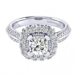 Gabriel 14 Karat Perfect Match Engagement Ring ER002C6AJW44JJ