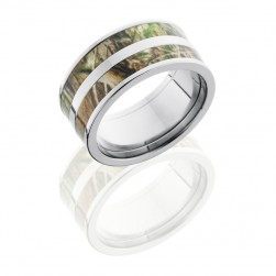 Lashbrook CAMO10F23-RTAP POLISH Camo Wedding Ring or Band