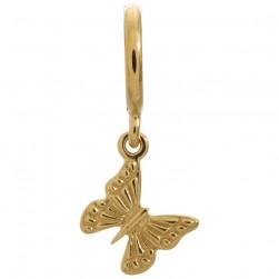 Endless Jewelry Beautiful Butterfly Gold Plated Charm 53253