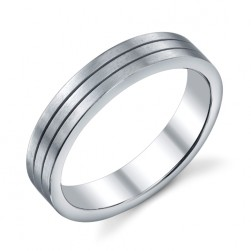 273421 Christian Bauer 18 Karat Wedding Ring / Band