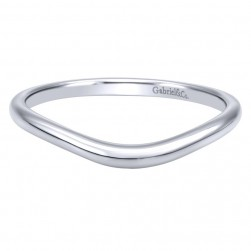 Gabriel 14 Karat Contemporary Wedding Band WB911929R0W4JJJ