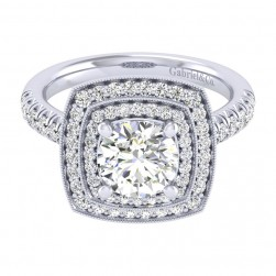 Gabriel 14 Karat Perfect Match Engagement Ring ER039C6AGW44JJ