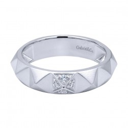 Gabriel Fashion Silver Stackable Stackable Ladies' Ring LR50342SVJWS