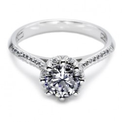 Tacori 18 Karat Solitaire Engagement Ring 2504RDP45