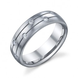 246619 Christian Bauer Platinum Diamond  Wedding Ring / Band