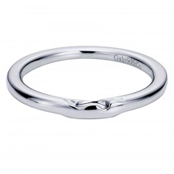 Gabriel 14 Karat Contemporary Wedding Band WB5913W4JJJ