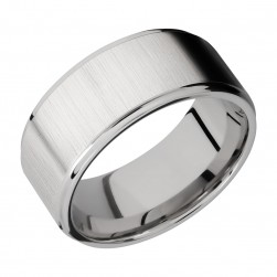 Lashbrook 10FGE Titanium Wedding Ring or Band