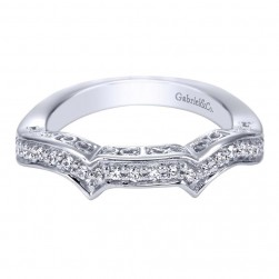 Gabriel 14 Karat Victorian Wedding Band WB5777W44JJ
